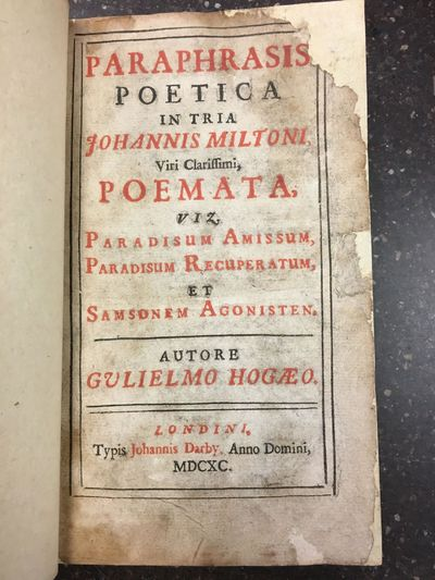 Londini : Johannis Darby, 1690. First Edition. Hardcover. Octavo, xxxvi, 510 pages; VG: bound in ful...