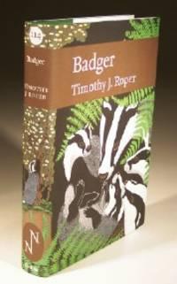 Badger, No.114 New Naturalist Series