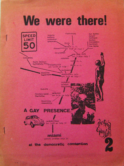 Boston: Good Gay Poets, 1972. First edition. Paperback. Near Fine. 4to. 14 pp printed on rectos only...