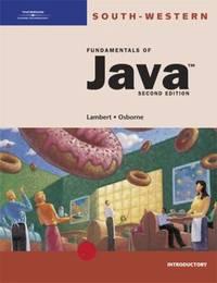Fundamentals of Java : Introductory