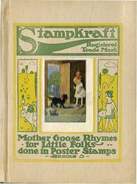 MOTHER GOOSE RHYMES FOR LITTLE FOLKS DONE IN POSTER STAMPS