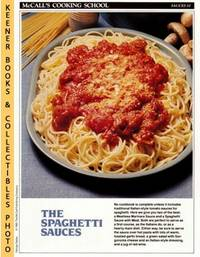 image of McCall's Cooking School Recipe Card: Sauces 10 - Meatless Marinara Sauce &  Spaghetti Sauce With Meat : Replacement McCall's Recipage or Recipe Card  For 3-Ring Binders : McCall's Cooking School Cookbook Series