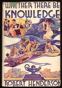 Philadelphia: J.B. Lippincott, 1933. Hardcover. Very Good/Very Good. First edition. Faint dampstain ...