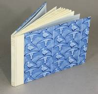 Roller-printed paste papers for bookbinding