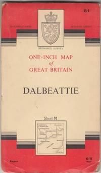One-Inch Map of Great Britian Sheet 81 Dalbeattie 7th Series