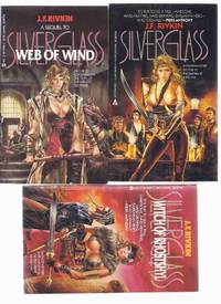 Silverglass ---with Web of Wind ---with Witch of Rhostshyl ---book 1, 2 and 3 of the Series By J F Rivkin -THREE VOLUMES -all Signed by  J F (signed)(aka:  Ellen Foxxe / Jeri Freedman ) Rivkin - Paperback - Signed First Edition - 1986 - from Leonard Shoup  and Biblio.com