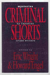 Criminal Shorts Mysteries by Canadian Crime Writers