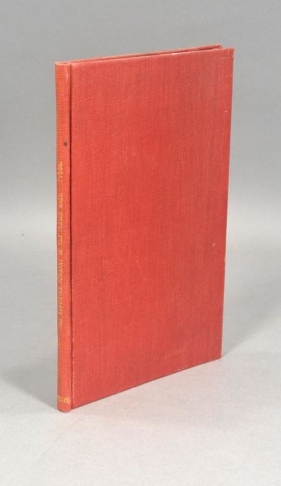 1836. TYSON, Job R. DISCOURSE ON THE SUVIVING REMNANT OF THE INDIAN RACE. Delivered on the 24th Octo...