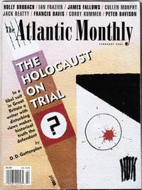 image of THE ATLANTIC 02/00: THE HOLOCAUST on TRIAL, INSIDE MICROSOFT, SV40 VACCINE