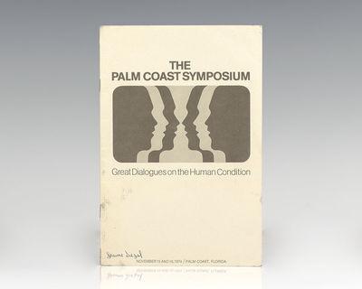 Palm Coast, Florida: The Palm Coast Symposium, 1974. First edition program from the November 1974 Pa...