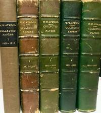 1900-1937 Collected Papers of Wallace Walter Atwood. Five Volumes