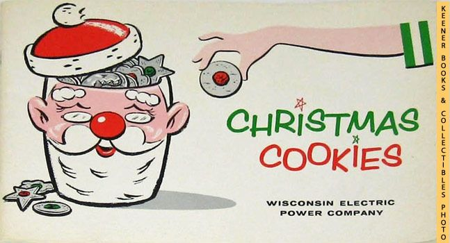 Christmas cookies 1961 book we energies wisconsin for Bureau 13 book series