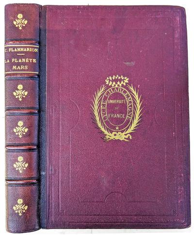 Paris:: Gauthier-Villars, 1892., 1892. 4to. x, 608 pp. 580 illustrations, including photos & telesco...
