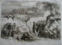 The Battle on the Volturno. The Neapolitan Troops passing along a Ravine.