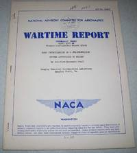 NACA Investigation of a Jet Propulsion System Applicable to Flight (NACA Wartime Report)
