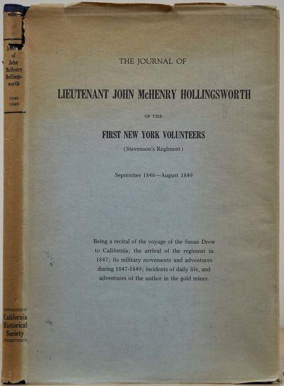 San Francisco, CA: California Historical Society, 1923. Book. Near fine condition. Hardcover. First ...