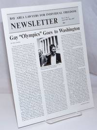 image of Bay Area Lawyers for Individual Freedom Newsletter: vol. 5, #6, April/May 1987; Gay Olympics goes to Washington