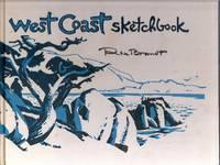 West Coast Sketchbook. Watercolors, notes, drawings  [SIGNED]