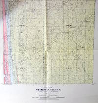 Fold-Out Geological Survey Map in Colour. Map 934a Stimson Creek, Alberta