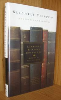 Slightly Chipped. Footnotes in Booklore. by Lawrence and Nancy Goldstone - First Edition, First Printing - 1999 - from Ravenroost Books (SKU: 2470)