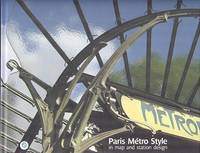 Paris Metro Style In Map and Station Design