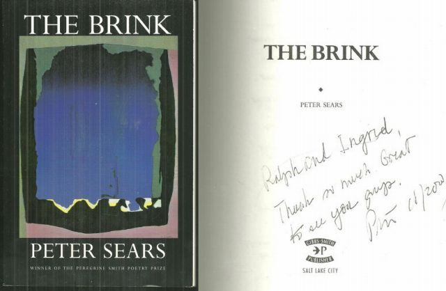 BRINK Poems, Sears, Peter