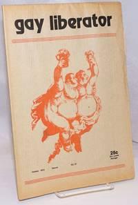 image of Gay liberator [aka Detroit Gay liberator] vol. 1, #31, October 1973; Gay Rights and the New Charter
