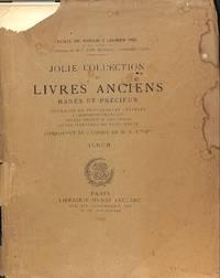 Jolie Collection de Livres Anciens...