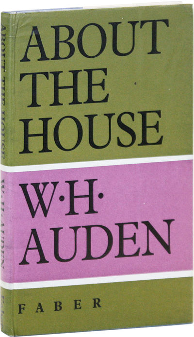 London: Faber and Faber, 1966. First U.K. Edition. First Impression, preceded by the American editio...