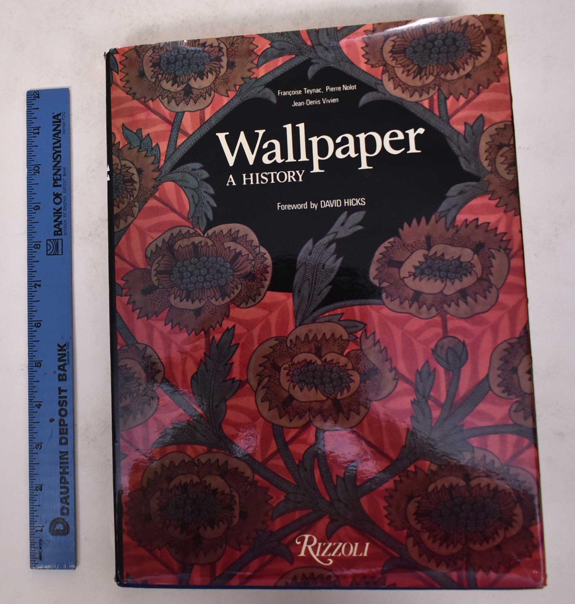 Papier Peint David Hicks 9780847804344 - wallpaper, a historyfrancoise teynac