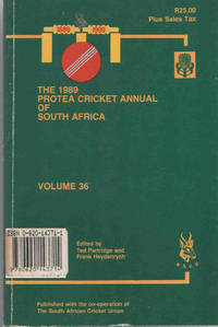 Protea Cricket Annual of South Africa 1989 (Volume 36)
