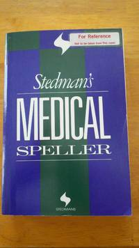 Stedman's Medical Speller (Stedman's word books)