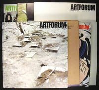 Artforum published 8 major pieces written by Robert Smithson. Here is the complete group