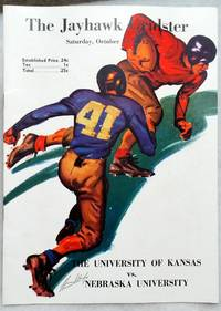 [Souvenir Football Game Program] The Jayhawk Gridster, Saturday, October 31, 1942, The University of Kansas Vs. Nebraska University