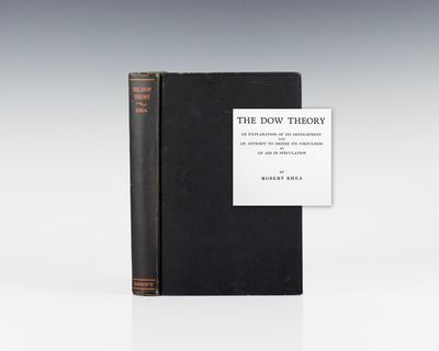 New York: Barron's, 1932. First edition of this classic work by one of the pioneering figures in the...