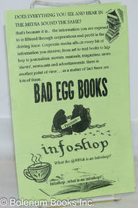 image of Bad Egg Books presents infoshop: What the @#$%& is an infoshop? -or- infoshop...what is an infoshop