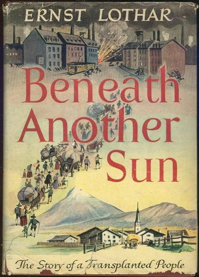 Image for BENEATH ANOTHER SUN The Story of the Transplanted People
