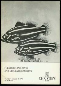 Furniture, Paintings and Decorative Objects (Tuesday, January 8, 1985)