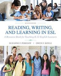 image of Reading, Writing and Learning in ESL: A Resource Book for Teaching K-12 English Learners