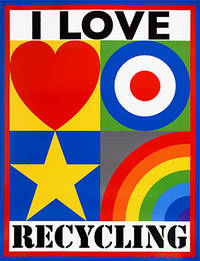 I Love Recycling. by  Peter BLAKE - Signed - 2010 - from Peter Harrington (SKU: 97630)