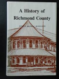 A History of Richmond County (N.C.)