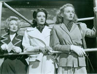 image of Promotional 8x10 Black & White Glossy Photograph for A Letter To Three Wives featuring Ann Sothern, Linda Darnell, Jeanne Crain