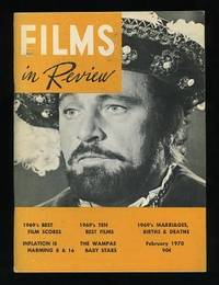 New York: National Board of Review of Motion Pictures. Near Fine. 1970. (Vol. XXI, No. 2). Periodica...