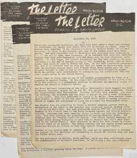 image of The Letter [three issues]