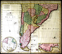 Carte du Paraguay, du Chili, Détroit de Magellan, & Terre de Feu, dans l'Amerique Meridionale par la veuve de Nicholas Visscher