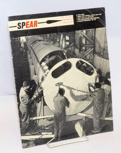 Nairobi: East African Railways Corporation, 1965. pp. 121-144, staplebound magazine, faint vertical ...