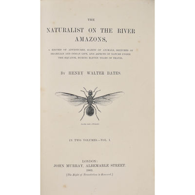 The Naturalist on the River Amazons,...