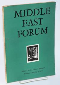 image of Middle East Forum. Vol. XLIII no. 2/3 (Double issue)