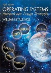 image of Operating Systems: Internals and Design Principles (5th Edition) (GOAL Series)