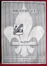 Ex-libris Québec. Ministère des Richesses Naturelles du Québec